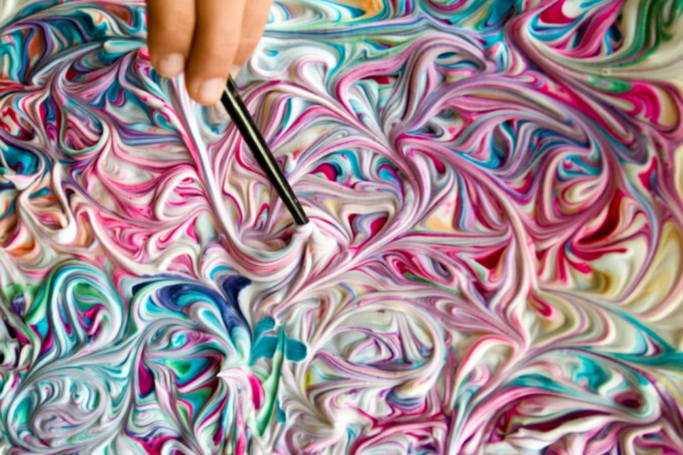 Cosa Facciamo Oggi? Puffy Paint